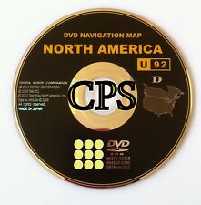 Toyota Lexus Gen 6 Navigation Maps DVD U92 North America 10.1 Update 2010 2011