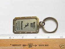Worlds Best Runner Keychain , Daytona Beach  Key Chain  (Name #158)