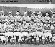 CHESTERFIELD FOOTBALL TEAM PHOTO>1960-61 SEASON