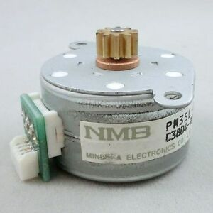 Minebea/NMB 12V 4-Phase 5-Wire Stepper Motor - PM35L-048-HPH7 New