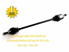 1 LHS Mitsubishi Galant HJ 4Cyl & V6 CV Joint Drive Shaft 4/93-12/95