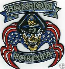 LARGE BON.JOVI FOREVER IRON ON PATCH BUY 2 GET 1 FREE