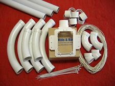 Hide A Hose 5000 Series Rough-In Kit - Will Rough-In 1 Inlet Up To A 60' Hose