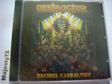 Destructor-Decibel Casualties CD Overkill,Exciter,Agent Steel 2017 SEALED
