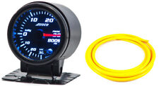 "52mm 2"" Turbo Boost Gauge psi Digital Sensor /Analogue Display + Yellow Hose"