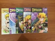 Drakuun Rise Of The Dragon Princess Issues #1, 3, 4, 5 & 6 (1997)