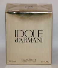 IDOLE D'ARMANI EAU DE PARFUM 75ML 2.5 OZ SPRAY GENUINE RARE BNIB SEALED