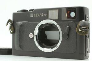 [NEAR MINT] Konica Hexar RF 35mm Rangefinder Film Camera w/+1 Diopter from Japan