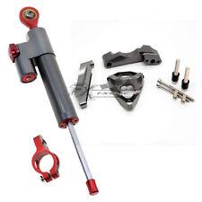 CNC Steering Damper & STABILLIZER Support Kit de montage pour GSXR 1000 2001-2004 02 03