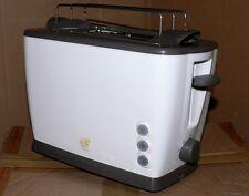 Jento Retro Doppelschlitz 2er Toaster 7 Temperatur 850W Brotaufsatz Krümmelschub