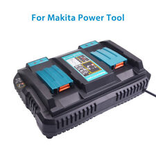 Li-ion Battery Charger Dual Port Power Tool With USB Charging For Makita BL1830