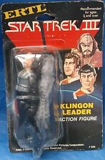 Star Trek III Klingon Leader Action Figure MOC MIP Ertl 1984 Vintage VTG