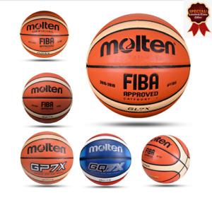 Basketball ball Leather Indoor Outdoor Men Women High Quality new Molten  GG7/6/