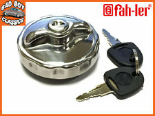 Locking STAINLESS STEEL Fuel Petrol Cap Fits CLASSIC MINI ALL YEARS