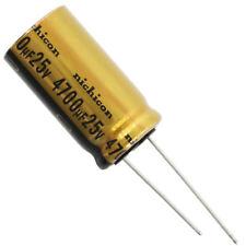 Nichicon UFW Audio Grade Electrolytic Capacitor, 4700uF @ 25V, 20% Tolerance