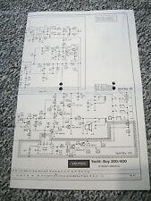 Grundig Yacht-Boy 300/400 Original Schaltplan