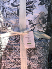 Pottery Barn Brinley Patchwork Cotton Full/Queen Quilt NEW