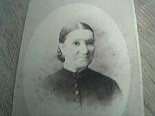 cdv photograph edwardian ipswich woman button dress kerby