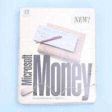 "Vintage Microsoft Money Version 1.0 on both 3.5"" & 5.25"" Floppies *NEW & SEALED*"