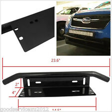 Bull Bar Car Off-Road 4X4 Bumper License Plate Fog Lights Install Holder Bracket