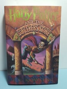 Harry Potter and the Sorcerer's Stone by J.K. Rowling 1998 DJ/HC 1st Edition