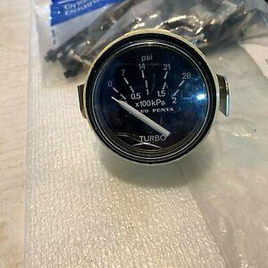 Volvo Penta VDO TECHNIK AG Pressure Gauge N 02 120 367, NSN 6620 01 376 9182
