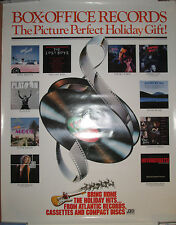 ATLANTIC RECORDS Soundtrack Christmas promo poster,1987,Lost Boys, Dogs in Space