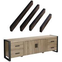 Zinc Alloy Black Door Handles Home Kitchen Cabinet Cupboard Knob Wardrobe Pull