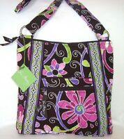 VERA BRADLEY PURSE HIPSTER CROSSBODY BAG  - PURPLE PUNCH - BRAND NEW WITH TAG