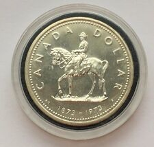 1973 CANADA COMMEMORATIVE SILVER ONE DOLLAR COIN FREE SHIPPING
