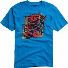 NWOT Fox Racing Kids Vanish SS T-Shirt Electric Blue Size Medium Ages 4/5