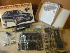 Rare! Vintage Mercedes-Benz 600 SEL 1/24 model car kit Lee Tamiya 03202. NOS/New
