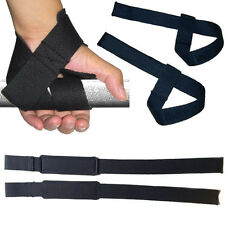 Weight Lifting Wrist Support Strap Wrap Gym Sport Bodybuilding Training 55cm NEW