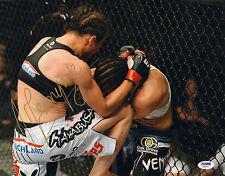 JOANNA JEDRZEJCZYK SIGNED AUTO'D 11X14 PHOTO PSA/DNA COA Z78371 MMA UFC CHAMPION