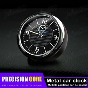 For All MAZDA Car Clock Refit Interior Luminous Electronic Quartz Ornaments Gift