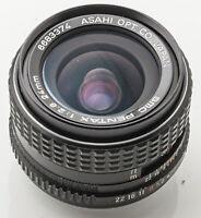 SMC Pentax Asahi 1:2.8 24mm 2.8 24 mm -- Pentax PK