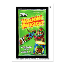 2020 TOPPS WACKY PACKAGES NEW NOVEMBER WEEK 3 BASE SET + WONKY + GUEST ARTIST