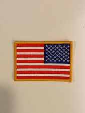 American Flag USA Military Uniform Jersey Embroidered Iron On Right Sleeve Patch