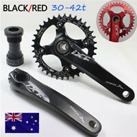 AU IXF 30-42t 104bcd MTB Road Bike Narrow Wide Chainring Crankset Sprockets