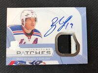 2011-12  THE CUP SIGNATURE PATCHES BRAD RICHARDS AUTO #ed 12/75