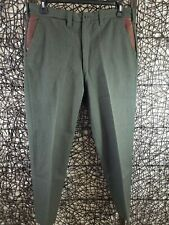 Vintage L.L. Bean Mens Wool Leather Hunting Outdoor Pants Approx. 34 X 30 Read
