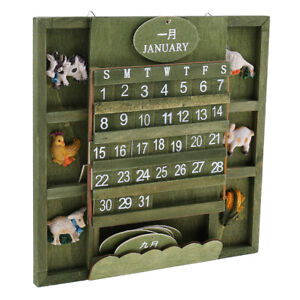 DIY Green Advent Calendar Wall Decoration  to Anniversary or Moment