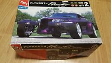 AMT PLYMOUTH PROWLER W/TRAILER 1/25 Model Car kit new