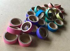 100 Mini Cardboard Bagel Rings - Bulk Pet Parrot Rabbit Birdie Bites Toy Parts