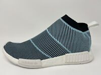 Men's Adidas NMD CS1 Parley Primeknit Shoes (AC8597) Blue/White/Black Size 11