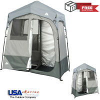 2-Room Ozark Trail Instant Shower/Utility Shelter Outdoor Privacy Tent Brand NEW