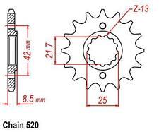 KR Ritzel 16Z Teilung 520 KAWASAKI ER 500 Twister 97-04 New... front sprocket