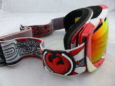 Dragon Snow Goggles ROGUE Nimbus Co-Op - Red Ionized Lens - Medium Frame