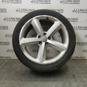 """AUDI A4 SALOON 2009-2012 18"""" ALLOY WHEELS WITH TYRES 245/40/R18 8K0801025Q"""