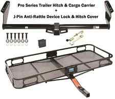 04-16 TOYOTA SIENNA TRAILER TOW HITCH + CARGO BASKET CARRIER + SILENT HITCH PIN